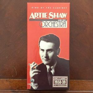 Artie Shaw: King of the Clarinet 3 cds box set